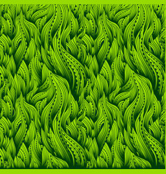Waves gradient grass vector