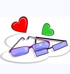 wedding glass vector image