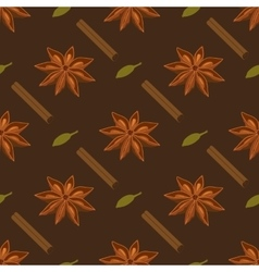 Spices seamless pattern vector