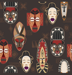african-pattern-02 vector image vector image