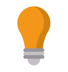 bulb idea creative icon vector image vector image