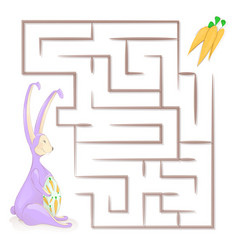 Games for children childrens maze vector