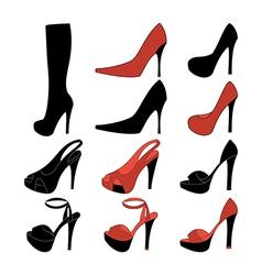 High heels vector