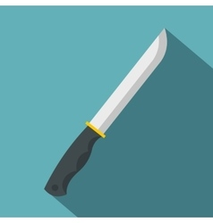 Knife icon flat style vector