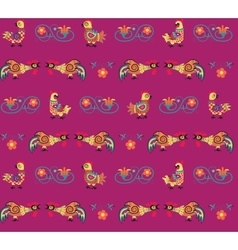 Pattern of rooster vector