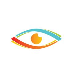 eyecare logo vector image