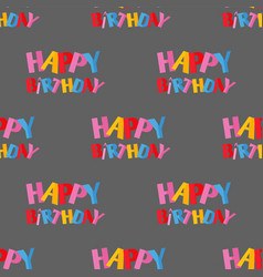 Party celebration happy birthday surprise vector