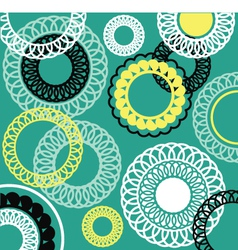 Background with rosettes vector