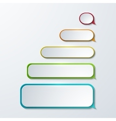 modern sms or message icons vector image