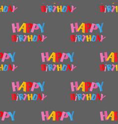 Party celebration happy birthday surprise vector