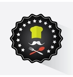 Restaurant logo design vector