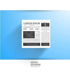 newspapers and news icon Black white vector image