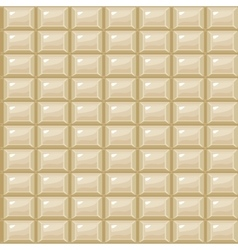 Seamless texture white chocolate vector