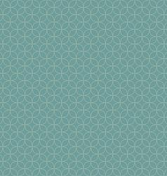 Seamless round corner squares pattern vector image