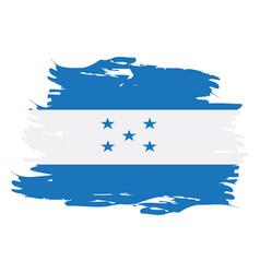 Isolated honduras flag vector