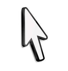 Mouse arrow cursor vector