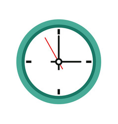 Office clock time business symbol clock icon vector