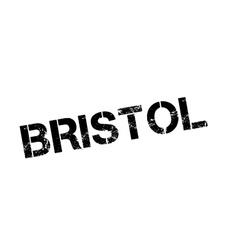 Bristol rubber stamp vector