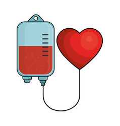 Donate blood save a life vector