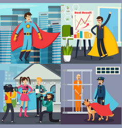 Superhero orthogonal concept vector