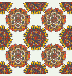 Abstract background with ethnic ornament pattern vector
