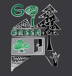 Go green vector