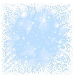 Abstract Christmas frame vector image