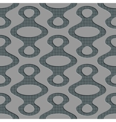 Seamless ellipse pattern vector
