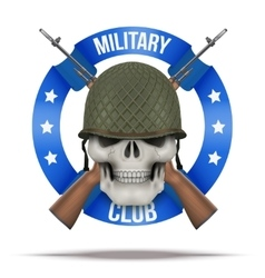 Military club or company badges and labels vector