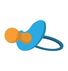Baby Pacifier cartoon icon vector image vector image