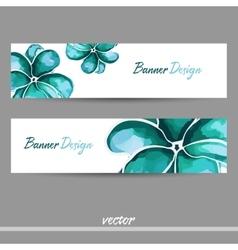 BlueBanner vector image vector image