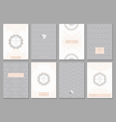 creative card template vector image vector image