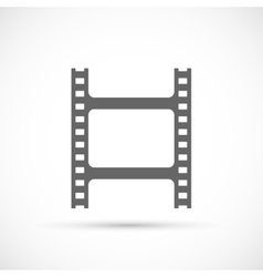 Film strip icon vector image vector image