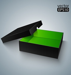 Opened Black box vector image