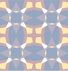 Pastel colored geometric shaped background vector