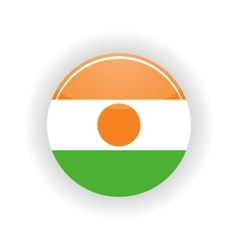 Niger icon circle vector