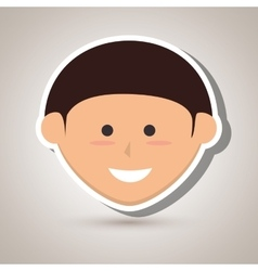 Happy child design vector