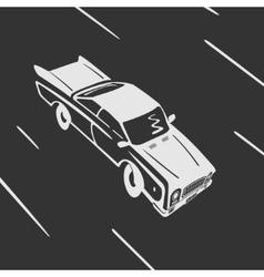 Car goes Symbol vector image vector image