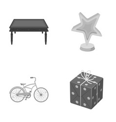 Cardboardsport and other monochrome icon in vector