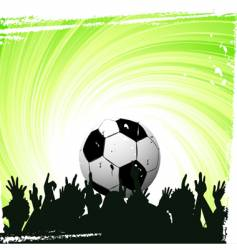 football worship vector image