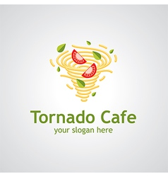 tornado cafe vector image