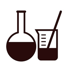Laboratory equipment vector image vector image