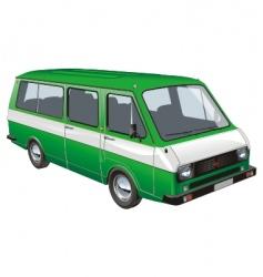 Mini bus vector