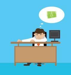 people wants to earn money vector image vector image