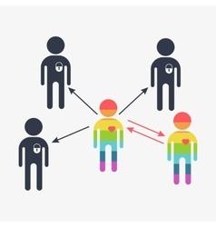 search gay love boy vector image