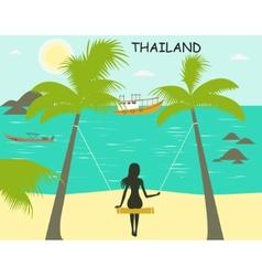 Thailand vector image vector image