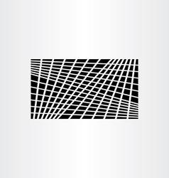 Black geometric background symmetry vector
