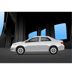 City car vector image vector image