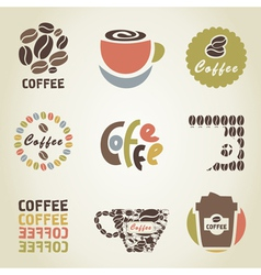 Coffee icon4 vector image vector image