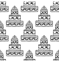 seamless pattern Design element vector image vector image